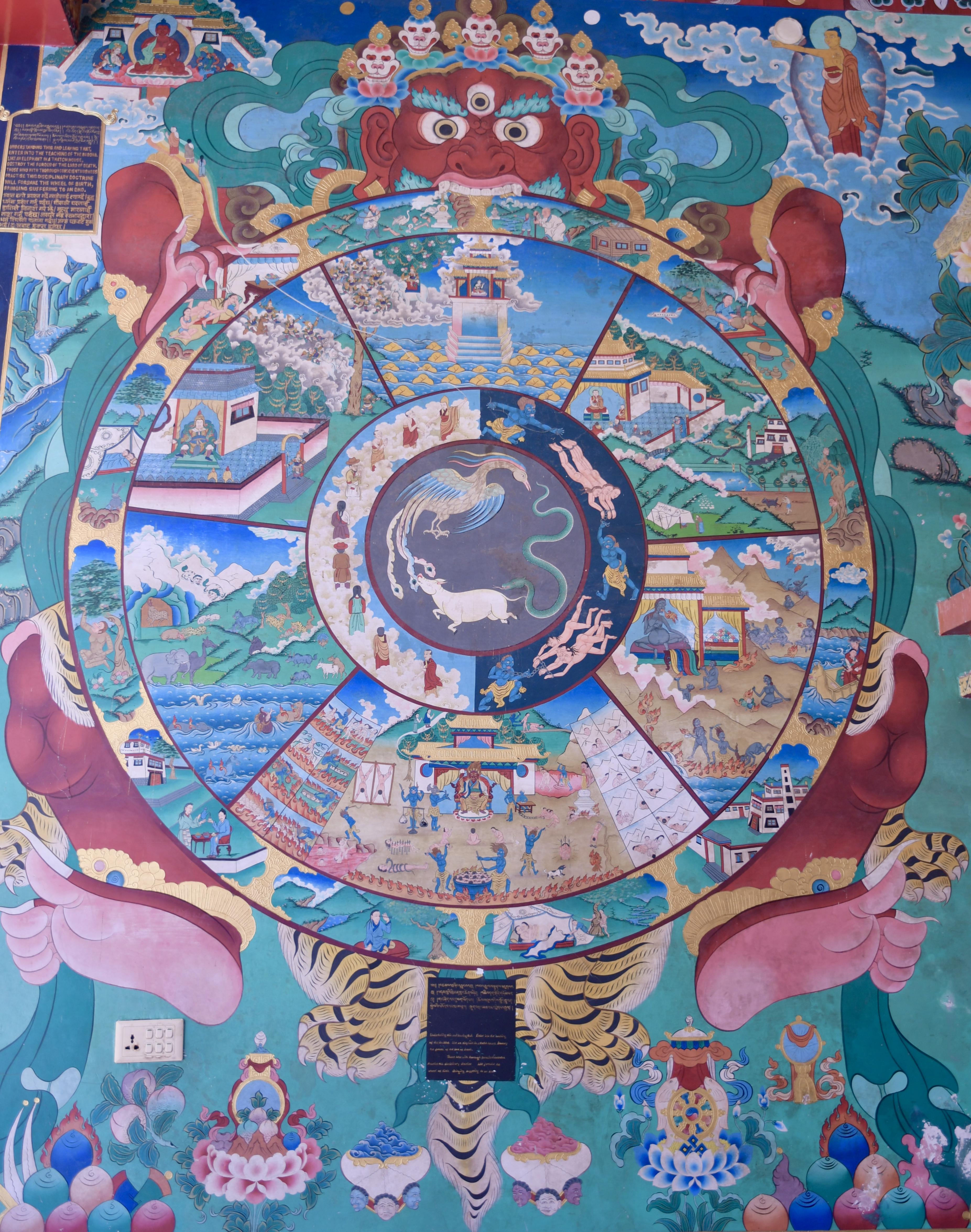 88 Everywhere A Wheel Of Life Mandala Sabbatical 2017